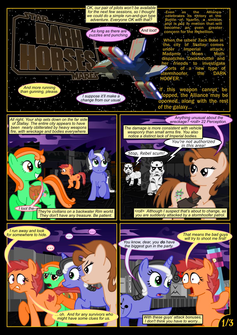 Dark Horses, Mission 2