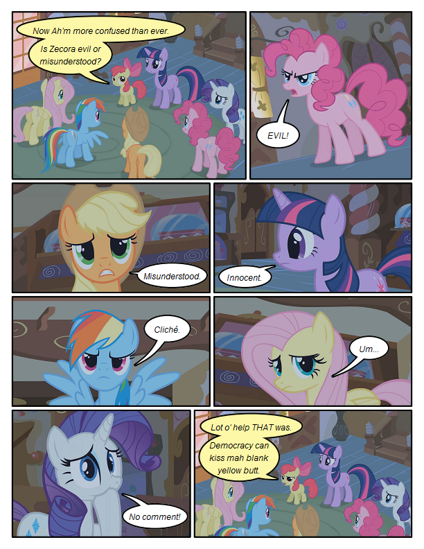 Six Angry Mares